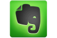 Button to Evernote website